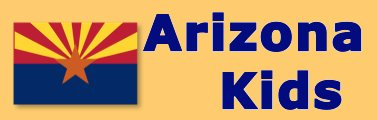 Arizona Kids links to the natural wonders, history, state facts, wildlife, word search, coloring pages and photographs of Arizona.