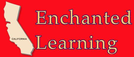 Enchanted Learning links to information, maps, symbols, geography, and more, about .