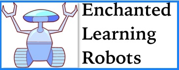Find crafts, printouts and more about robots at Enchanted Learning.