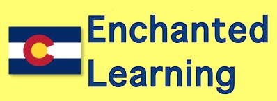 Enchanted Learning has information, symbols, maps, and more, about Colorado.