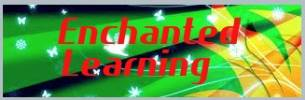 Enchanted Learning Software creates children's educational web sites and games designed to stimulate creativity, learning, enjoyment, and imagination.  Reptiles, Rattlesnakes, Komodo Dragons, lizards, Iguanas, Boa Constrictors, Alligators, Pythons