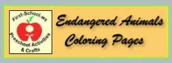 Endangered animals coloring pages is an extension of Endangered Animals Preschool Activities and Crafts.  These are suitable for toddlers, preschool and kindergarten.