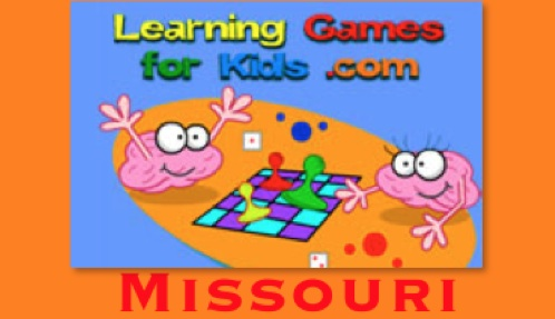 Play learning games for kids for Missouri here!