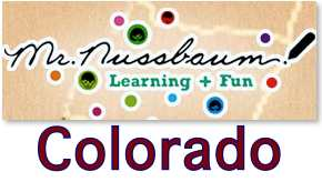 Mr. Nussbaum has videos, maps, facts, and activities for Colorado.