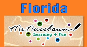 Mr. Nussbaum provides state facts, a map, Florida history, word searches, and more.