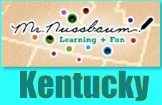 Kentucky History State Symbols - Kentucky map enchanted learning