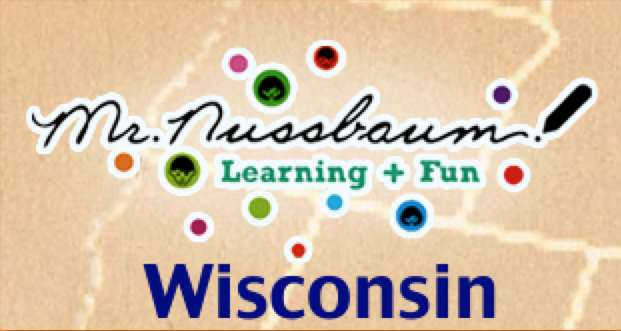Mr. Nussbaum includes maps, activities, facts, and history about Wisconsin.