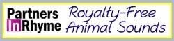 Listen online/download royalty-free animal sounds.