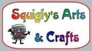 Squigly`s fun and easy crafts for kids including crafts for children, k-9 crafts, kids crafts, jewellery, seasonal crafts, paper crafts