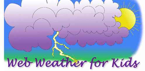 Web Weather for Kids helps you learn about what makes weather wet and wild!